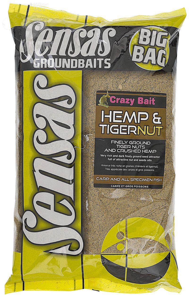 Sensas Big Bag Hemp & Tigernut Groundbait