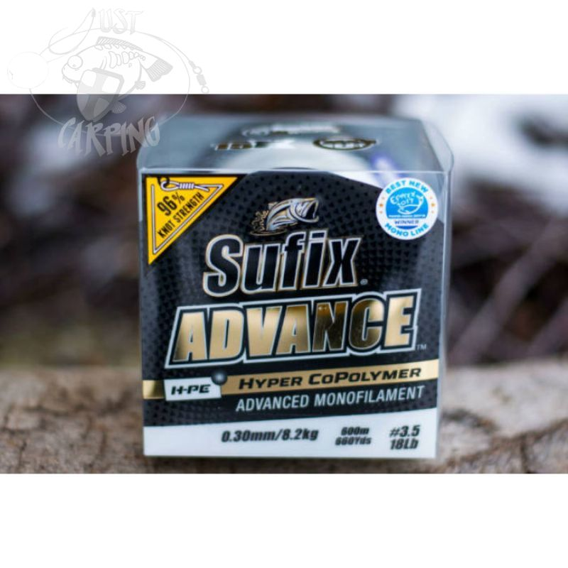 Sufix Advance H-PE Hyper Copolymer Advanced Mono Carp Line