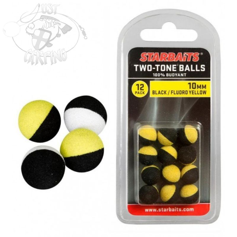 Starbaits Two Tone Pop Ups Balls